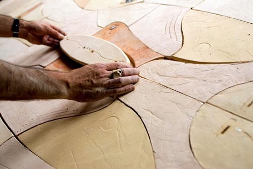Norbèr Van Herwaarden, Ceramic Furniture And Art